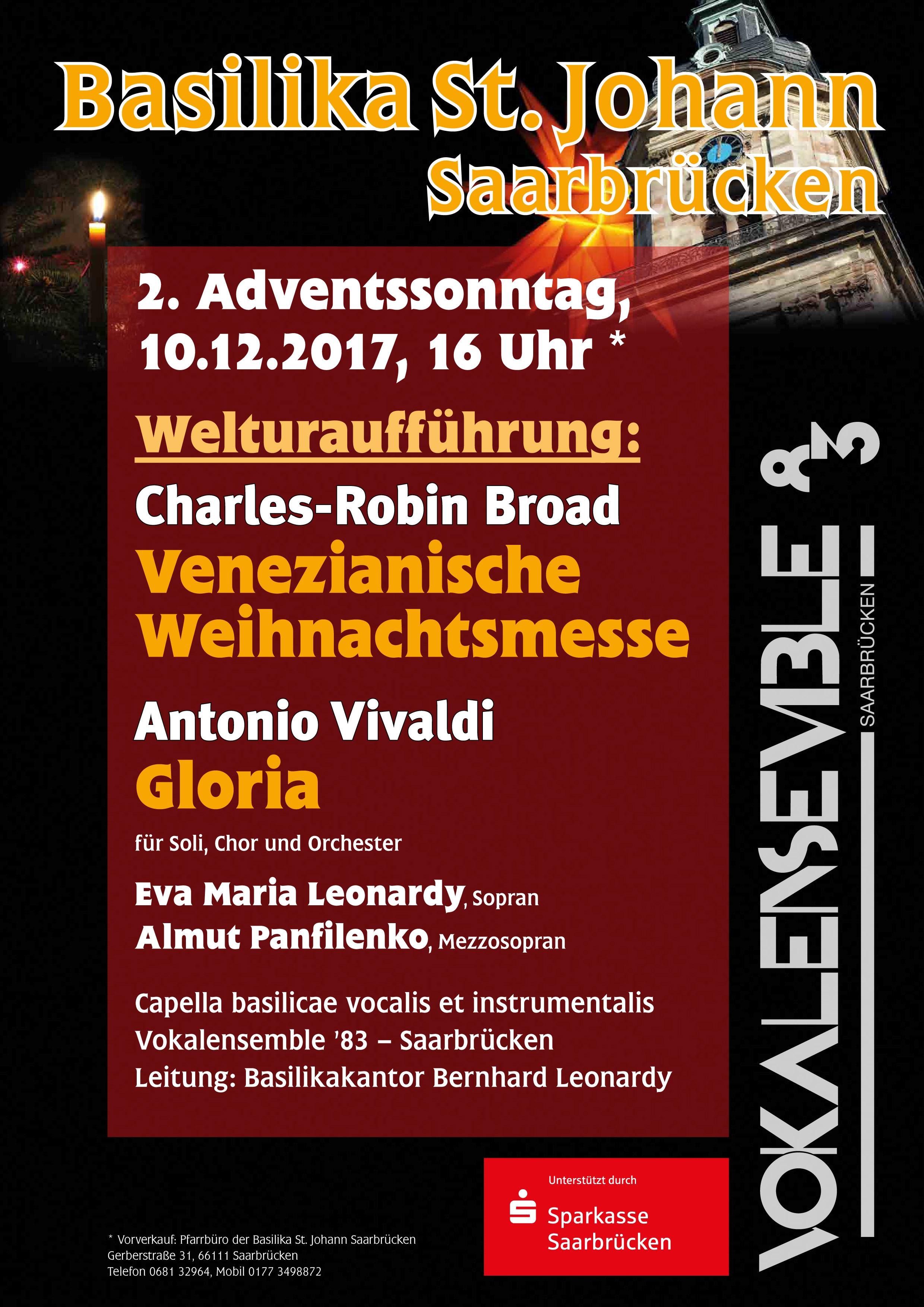 Uraufführung und Vivaldi